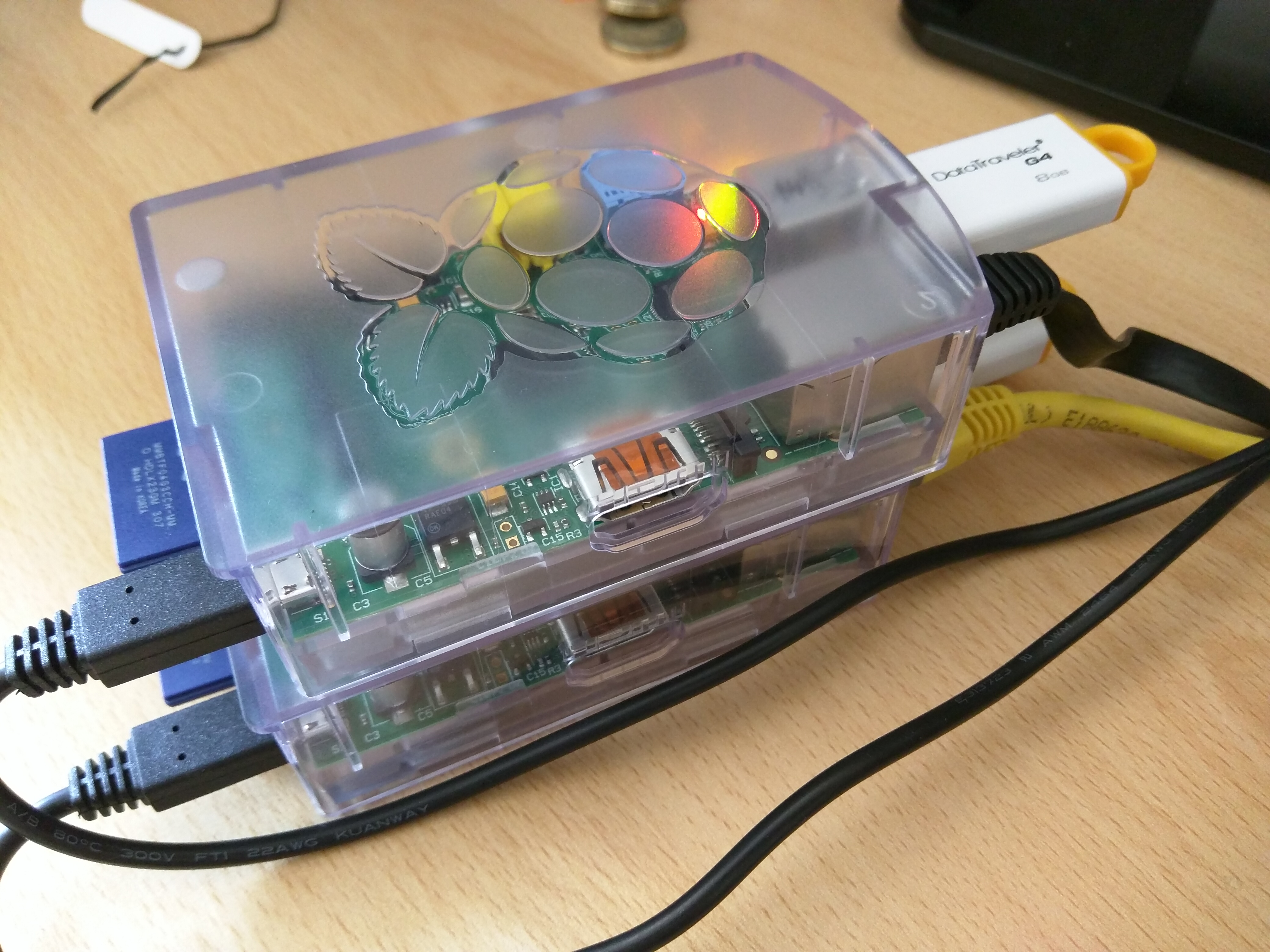 Raspberry Pi NAS With Gluster